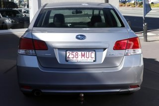 2010 Subaru Liberty B5 MY10 2.5i Lineartronic AWD Premium Silver 6 Speed Constant Variable Sedan