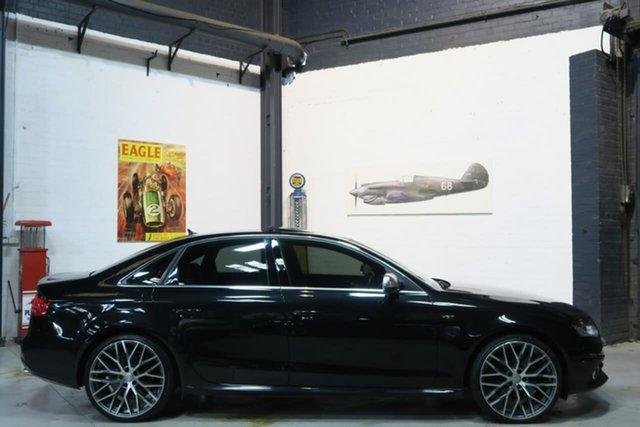 Used Audi S4 B8 8K MY10 S Tronic Quattro, 2010 Audi S4 B8 8K MY10 S Tronic Quattro Black 7 Speed Sports Automatic Dual Clutch Sedan