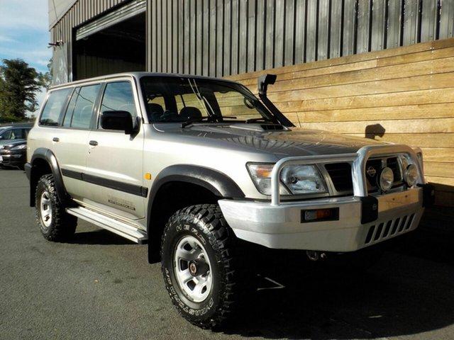 Used Nissan Patrol GU ST, 1999 Nissan Patrol GU ST Gold 5 Speed Manual Wagon