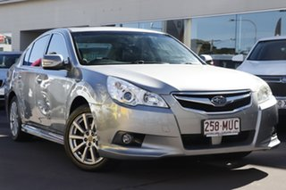 2010 Subaru Liberty B5 MY10 2.5i Lineartronic AWD Premium Silver 6 Speed Constant Variable Sedan.