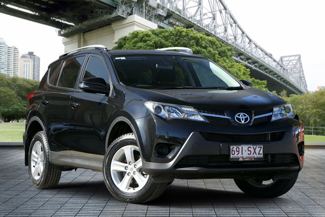Used Toyota RAV4 ZSA42R GX 2WD, 2013 Toyota RAV4 ZSA42R GX 2WD Black 7 Speed Constant Variable Wagon