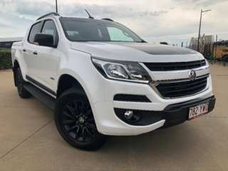2018 Holden Colorado RG MY19 Z71 Pickup Crew Cab White 6 Speed Sports Automatic Utility.