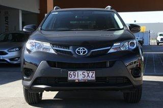 2013 Toyota RAV4 ZSA42R GX 2WD Black 7 Speed Constant Variable Wagon