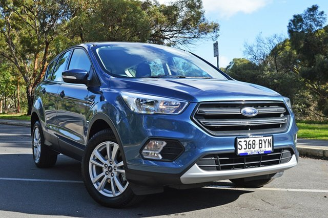 Used Ford Escape ZG 2018.75MY Ambiente 2WD, 2018 Ford Escape ZG 2018.75MY Ambiente 2WD Blue Metallic 6 Speed Sports Automatic Wagon