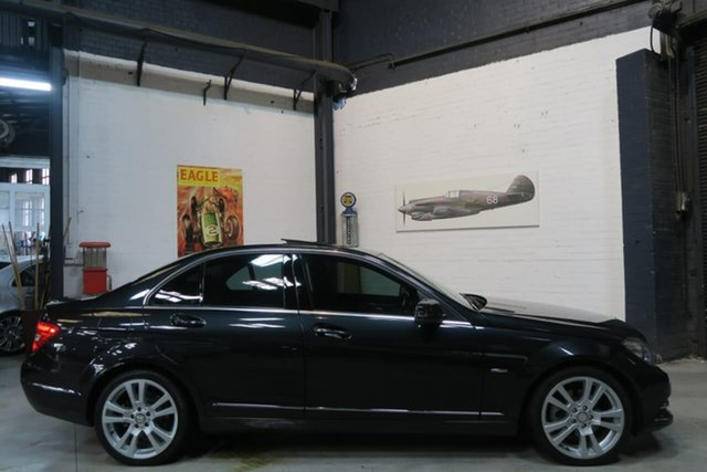 Used Mercedes-Benz C250 CDI W204 MY11 BlueEFFICIENCY 7G-Tronic Avantgarde, 2011 Mercedes-Benz C250 CDI W204 MY11 BlueEFFICIENCY 7G-Tronic Avantgarde Black 7 Speed