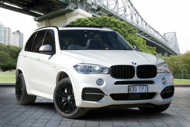 Used BMW X5 F15 M50D, 2014 BMW X5 F15 M50D White 8 Speed Sports Automatic Wagon