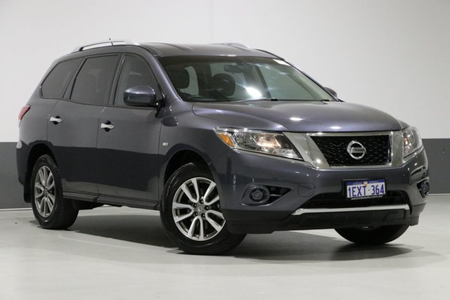 Used Nissan Pathfinder R52 ST (4x2), 2014 Nissan Pathfinder R52 ST (4x2) Grey Continuous Variable Wagon