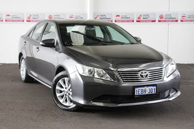 Used Toyota Aurion GSV50R AT-X, 2012 Toyota Aurion GSV50R AT-X Graphite 6 Speed Automatic Sedan