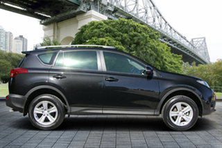 2013 Toyota RAV4 ZSA42R GX 2WD Black 7 Speed Constant Variable Wagon.