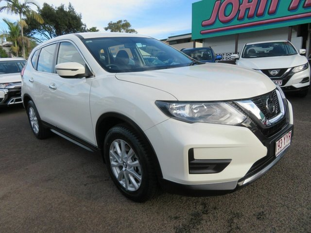 Used Nissan X-Trail T32 Series II ST X-tronic 2WD, 2017 Nissan X-Trail T32 Series II ST X-tronic 2WD White 7 Speed Constant Variable Wagon