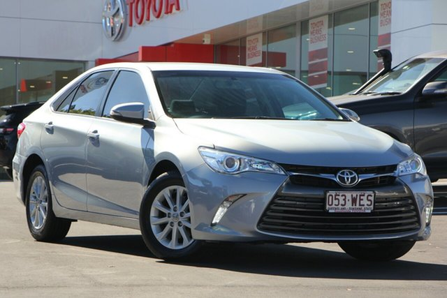 Used Toyota Camry ASV50R Altise, 2016 Toyota Camry ASV50R Altise Blue Mist 6 Speed Sports Automatic Sedan