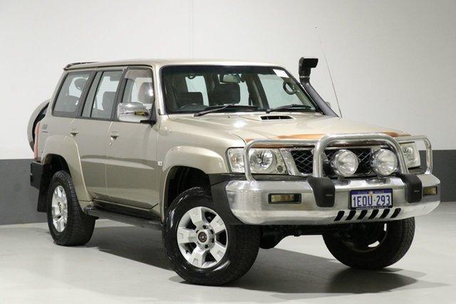Used Nissan Patrol GU IV ST (4x4), 2005 Nissan Patrol GU IV ST (4x4) Gold 4 Speed Automatic Wagon
