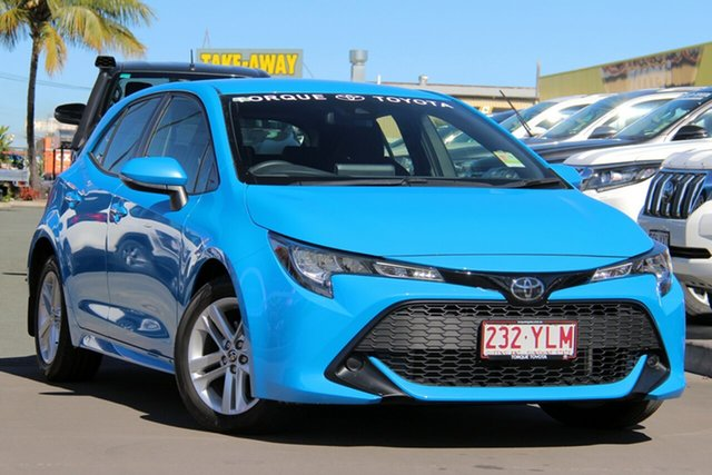 Demo Toyota Corolla Mzea12R Ascent Sport, 2018 Toyota Corolla Mzea12R Ascent Sport Eclectic Blue 10 Speed Constant Variable Hatchback