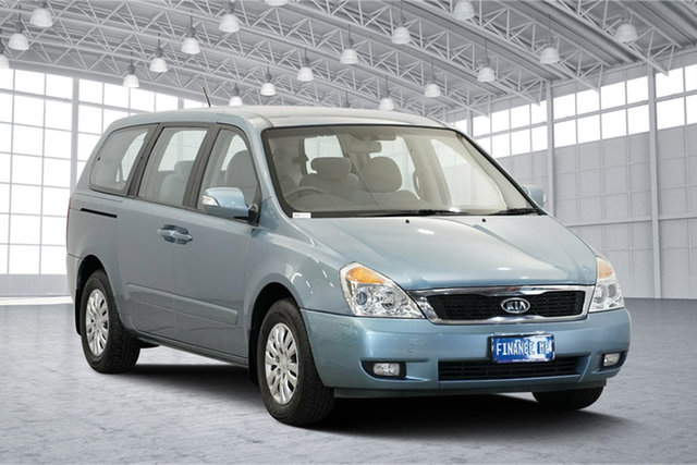 Used Kia Grand Carnival VQ MY12 S, 2012 Kia Grand Carnival VQ MY12 S Blue 6 Speed Sports Automatic Wagon