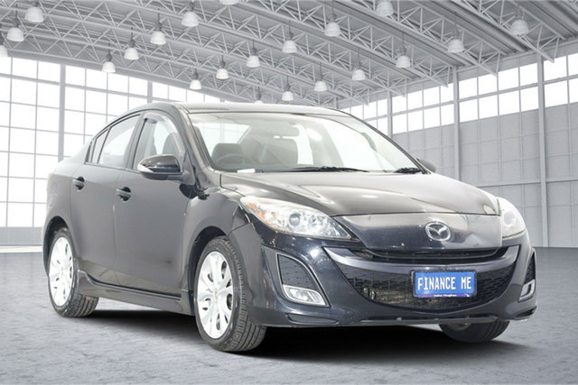 Used Mazda 3 BL10L1 MY10 SP25 Activematic, 2010 Mazda 3 BL10L1 MY10 SP25 Activematic Black 5 Speed Sports Automatic Sedan