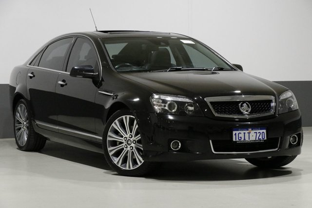Used Holden Caprice WN V, 2014 Holden Caprice WN V Black 6 Speed Auto Active Sequential Sedan