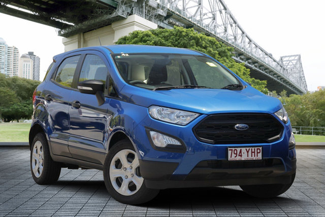Used Ford Ecosport BL Ambiente, 2018 Ford Ecosport BL Ambiente Blue 6 Speed Automatic Wagon