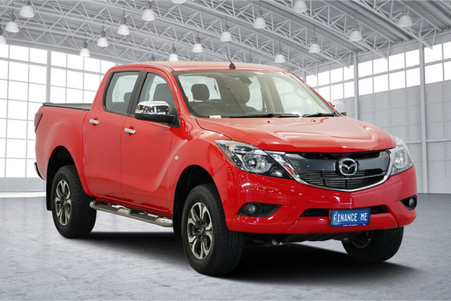 Used Mazda BT-50 UR0YG1 XTR, 2016 Mazda BT-50 UR0YG1 XTR Red 6 Speed Sports Automatic Utility