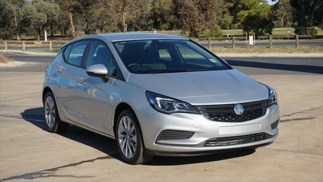 Demo Holden Astra BK MY18.5 R+, 2018 Holden Astra BK MY18.5 R+ Nitrate Silver 6 Speed Sports Automatic Hatchback