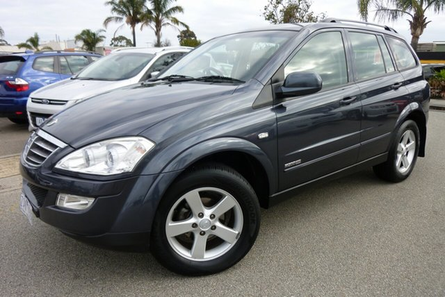 Used Ssangyong Kyron D100 MY09 M200 XDi, 2010 Ssangyong Kyron D100 MY09 M200 XDi Charcoal Grey 6 Speed Sports Automatic Wagon
