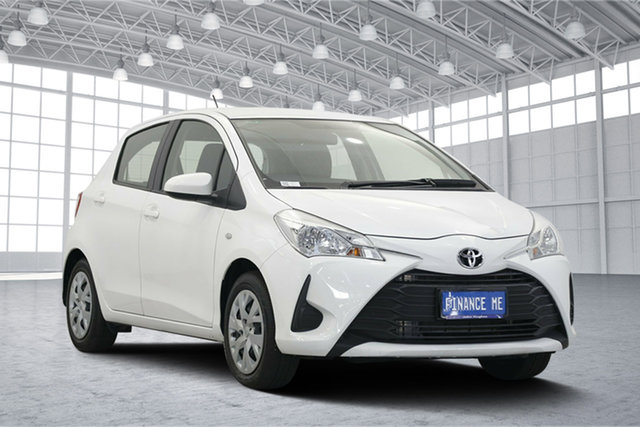 Used Toyota Yaris NCP130R Ascent, 2017 Toyota Yaris NCP130R Ascent White 4 Speed Automatic Hatchback