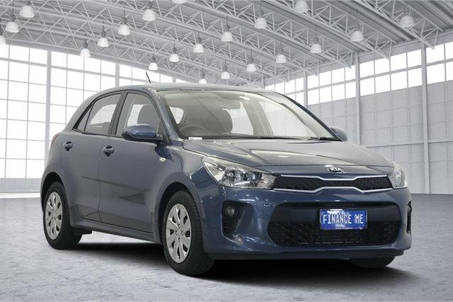 Used Kia Rio YB MY17 S, 2017 Kia Rio YB MY17 S Blue 4 Speed Sports Automatic Hatchback