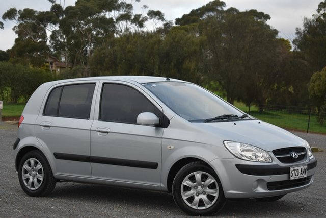 Used Hyundai Getz TB MY09 S, 2010 Hyundai Getz TB MY09 S Silver 4 Speed Automatic Hatchback