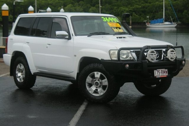 Used Nissan Patrol GU IV MY05 ST, 2006 Nissan Patrol GU IV MY05 ST White 5 Speed Manual Wagon