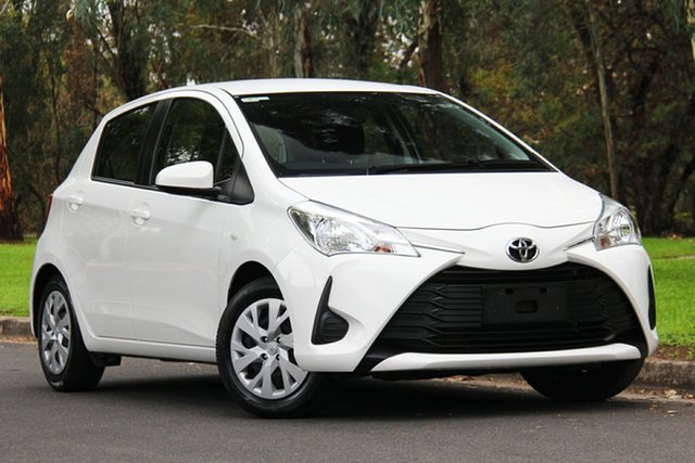 Used Toyota Yaris NCP130R Ascent, 2018 Toyota Yaris NCP130R Ascent White 4 Speed Automatic Hatchback