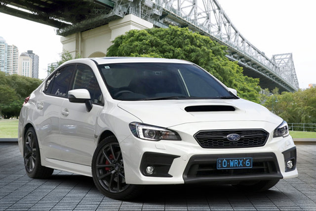 Demo Subaru WRX V1 MY18 Premium AWD, 2018 Subaru WRX V1 MY18 Premium AWD White Crystal 6 Speed Manual Sedan