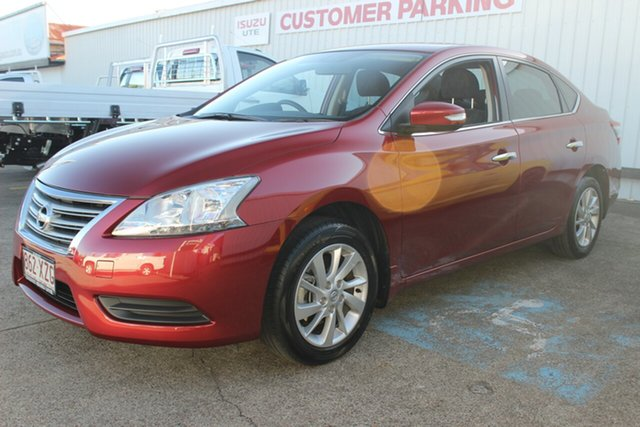 Used Nissan Pulsar B17 Series 2 ST, 2015 Nissan Pulsar B17 Series 2 ST Red 1 Speed Constant Variable Sedan