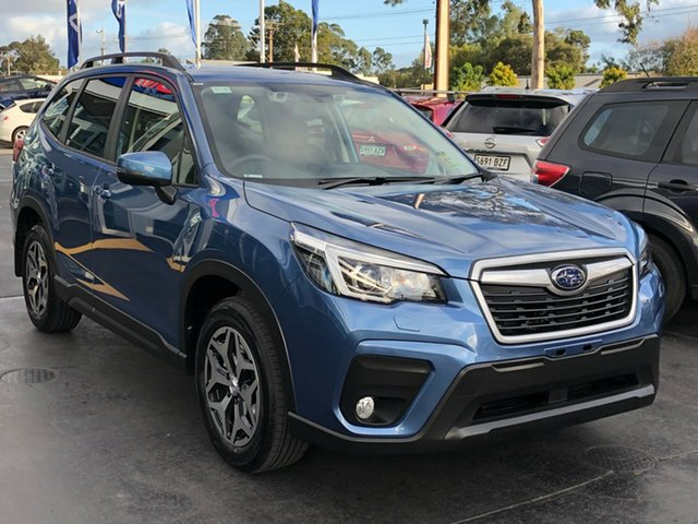 New Subaru Forester S5 MY19 2.5i CVT AWD, 2019 Subaru Forester S5 MY19 2.5i CVT AWD Horizon Blue 7 Speed Constant Variable Wagon