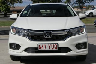 2018 Honda City GM MY19 VTi-L White Orchid 7 Speed Constant Variable Sedan