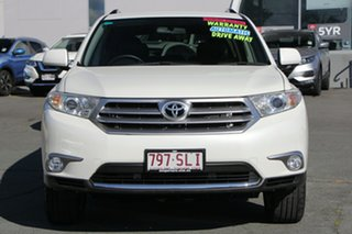 2012 Toyota Kluger GSU40R MY12 KX-S 2WD White 5 Speed Sports Automatic Wagon