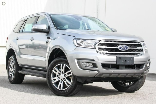 Demo Ford Everest UA II 2019.00MY Trend 4WD, 2019 Ford Everest UA II 2019.00MY Trend 4WD Silver 6 Speed Sports Automatic Wagon