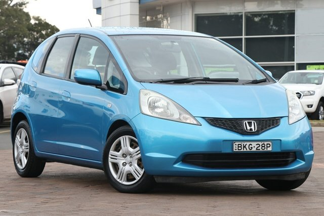 Used Honda Jazz GE MY09 VTi, 2008 Honda Jazz GE MY09 VTi Blue 5 Speed Automatic Hatchback