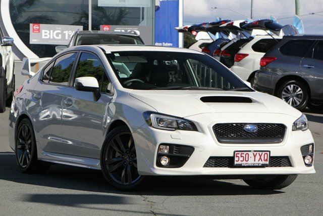 Used Subaru WRX V1 MY16 Premium Lineartronic AWD, 2016 Subaru WRX V1 MY16 Premium Lineartronic AWD White 8 Speed Constant Variable Sedan