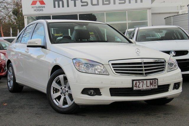 Used Mercedes-Benz C220 CDI W204 Classic, 2009 Mercedes-Benz C220 CDI W204 Classic Calcite White 5 Speed Automatic Sedan