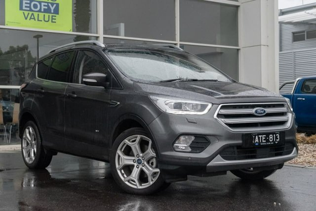 Used Ford Escape ZG 2018.00MY Titanium AWD, 2017 Ford Escape ZG 2018.00MY Titanium AWD 6 Speed Sports Automatic Wagon