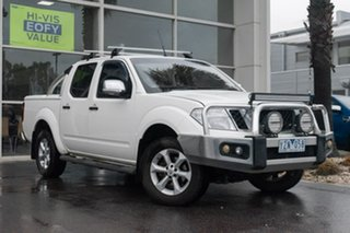 2011 Nissan Navara D40 S6 MY12 ST-X King Cab 5 Speed Automatic Utility.