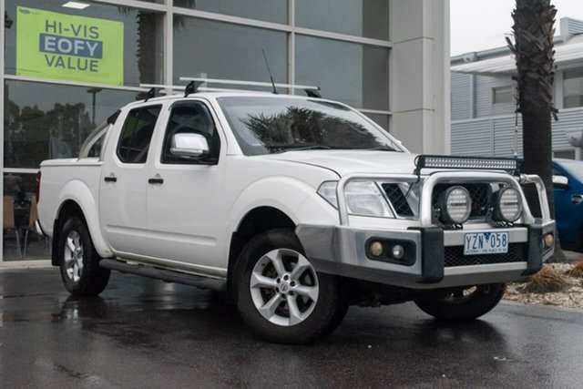 Used Nissan Navara D40 S6 MY12 ST-X King Cab, 2011 Nissan Navara D40 S6 MY12 ST-X King Cab 5 Speed Automatic Utility