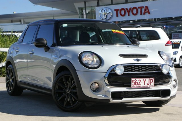 Used Mini Hatch F55 Cooper S, 2015 Mini Hatch F55 Cooper S White 6 Speed Manual Hatchback