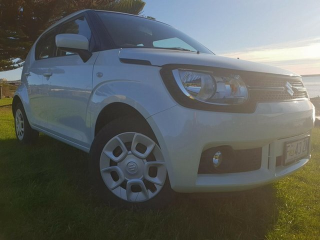 Used Suzuki Ignis MF GL, 2017 Suzuki Ignis MF GL White 1 Speed Constant Variable Hatchback