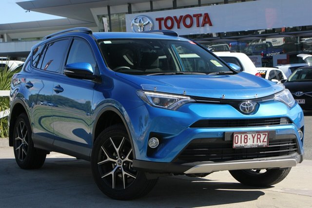 Demo Toyota RAV4 ASA44R GXL AWD, 2018 Toyota RAV4 ASA44R GXL AWD Blue Gem 6 Speed Sports Automatic Wagon