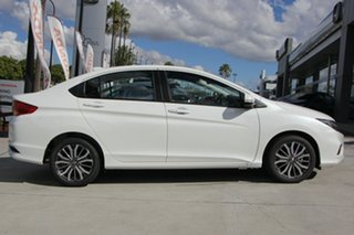 2018 Honda City GM MY19 VTi-L White Orchid 7 Speed Constant Variable Sedan.