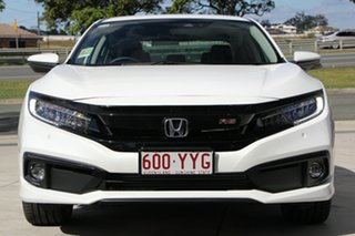 2019 Honda Civic 10th Gen MY19 RS Platinum White 1 Speed Constant Variable Sedan