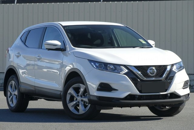 New Nissan Qashqai J11 Series 3 MY20 ST+ X-tronic Liverpool, 2021 Nissan Qashqai J11 Series 3 MY20 ST+ X-tronic Ivory Pearl 1 Speed Constant Variable Wagon