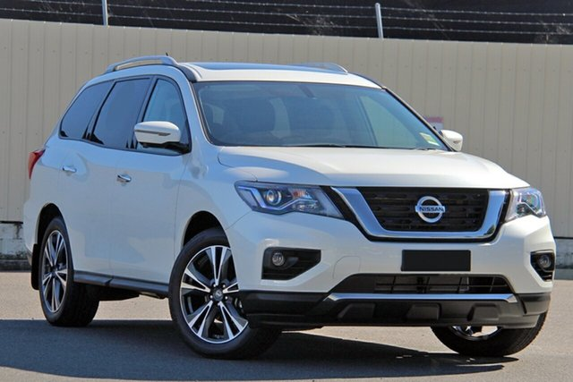 New Nissan Pathfinder R52 Series III MY19 Ti X-tronic 2WD, 2019 Nissan Pathfinder R52 Series III MY19 Ti X-tronic 2WD Ivory Pearl 1 Speed Constant Variable
