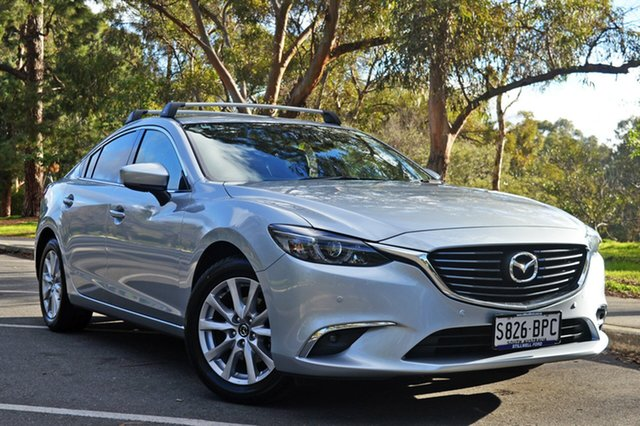 Used Mazda 6 GL1031 Touring SKYACTIV-Drive, 2017 Mazda 6 GL1031 Touring SKYACTIV-Drive Silver 6 Speed Sports Automatic Sedan