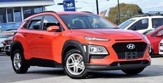 2018 Hyundai Kona OS MY18 Active 2WD Orange 6 Speed Sports Automatic Wagon.